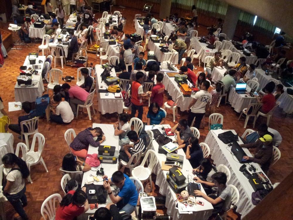 Tagisang Robotics 2014 Technical Training and Workshop May 26 - 30, 2014 (1/6)