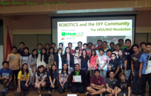 ThinkLab Awesome Duo Goes to Mapua for Robotics Seminar