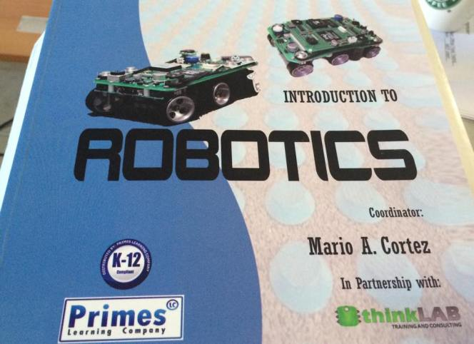 Introduction to Robotics workbook for K12 by Thinklab and PRIMES