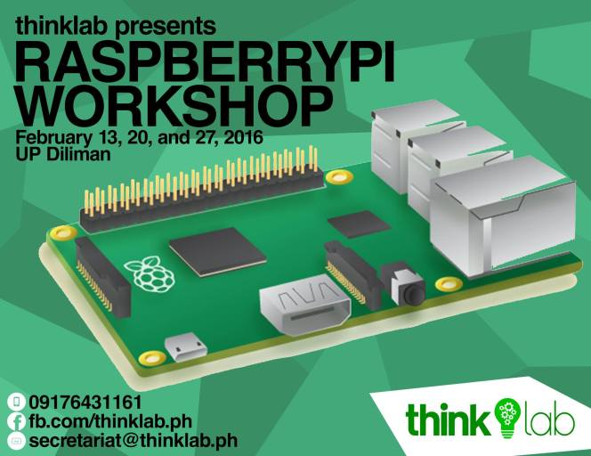 THINKLAB Raspberry Pi 2 Workshop 2016