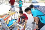 Rizal High School's Salamander, their Tagisang Robotics Robot