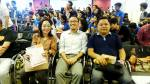 Karen Ochavo and Jude Defensor of ADB, with Jun Fetizanan of Project FAME, IdeaSpace
