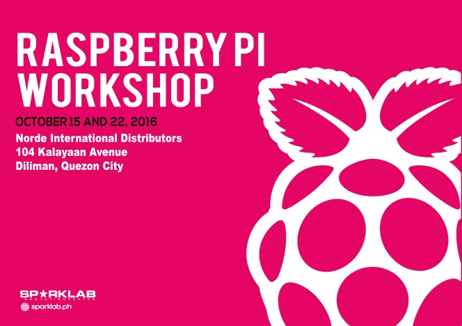 THINKLAB Raspberry Pi 3 Workshop 2016